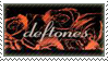 Deftones Rose Stamp by IgnisAlatus