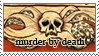 Murder By Death Stamp by IgnisAlatus