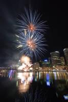 Fireworks at Darling Harbour 1 by deviantjohnny99