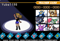 my first 6 pokemon by Yubel198
