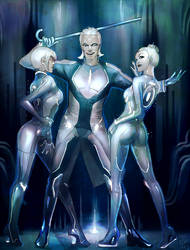 TRON: party starts here by Larbesta