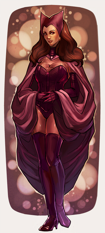 Scarlet Witch by Larbesta