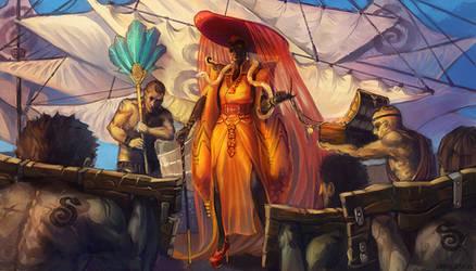 Mistress Snake by Larbesta