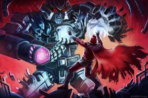Megatron vs Magneto