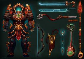 Millenium Dragon Armor by Larbesta
