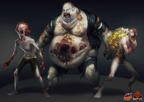 Virus: Zombies by Larbesta