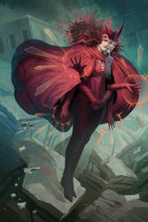 The Entropy Witch by Larbesta