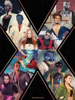 Extraordinaries: X-men redesign