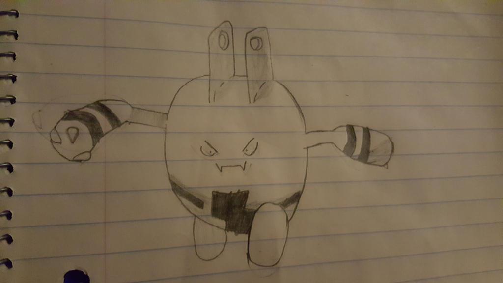 Elekid (El'egg'kid) Sketch by AceTheLucario