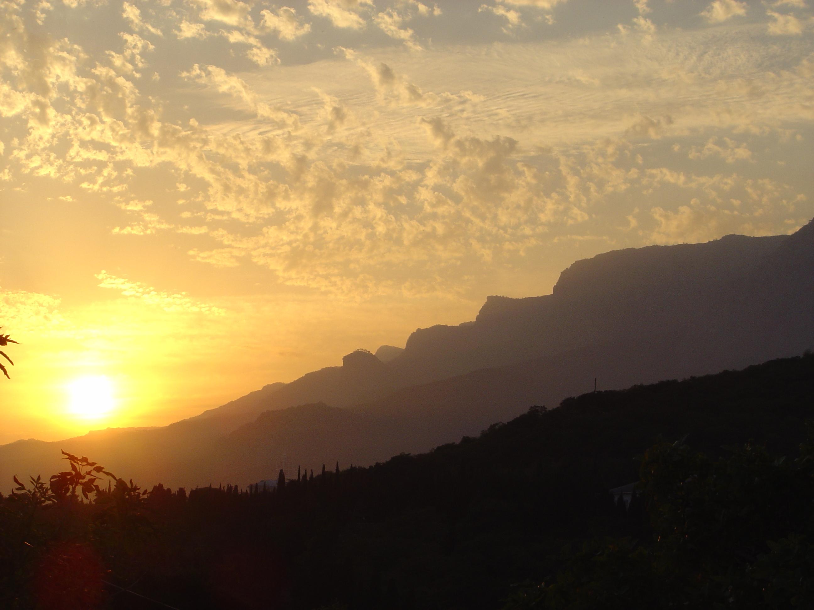 Krim - 9 - Sunset