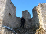 Me in towerruins