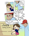 No Delivery Today (comic) by fumikoon