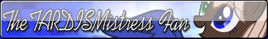  Commission TheTARDISMistress(Fan Button) by AngelLightYT