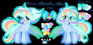 MLP -  Water Rainbow Star (Request) by AngelLightYT
