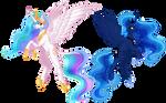 [COLLAB] Celestia and Luna