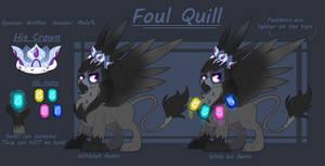 Foul Quill- Ref Sheet