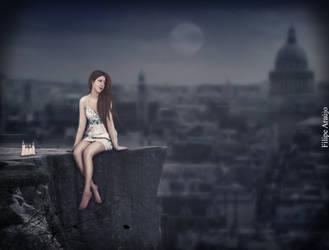 Alone in The City by Filipe1
