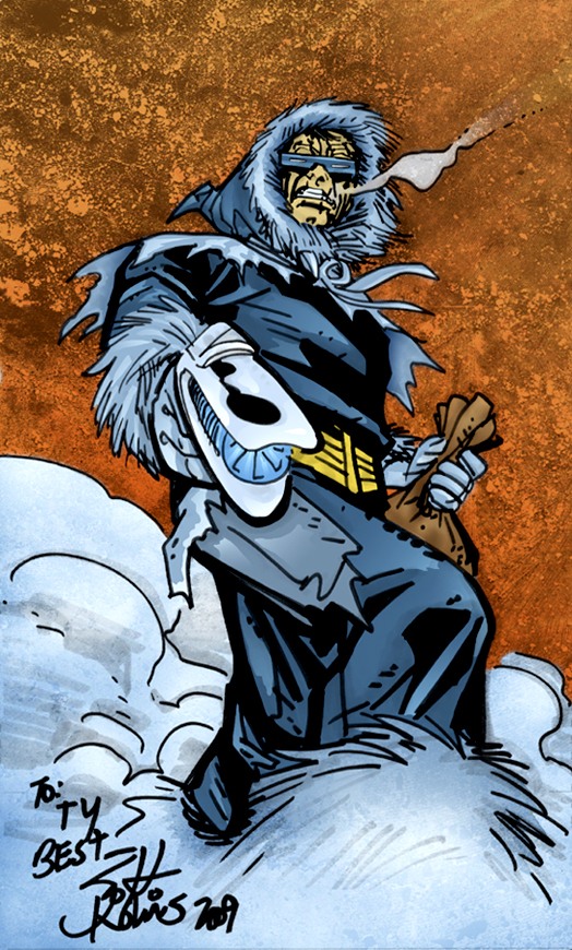 Captain Cold Sketch by TyTyner