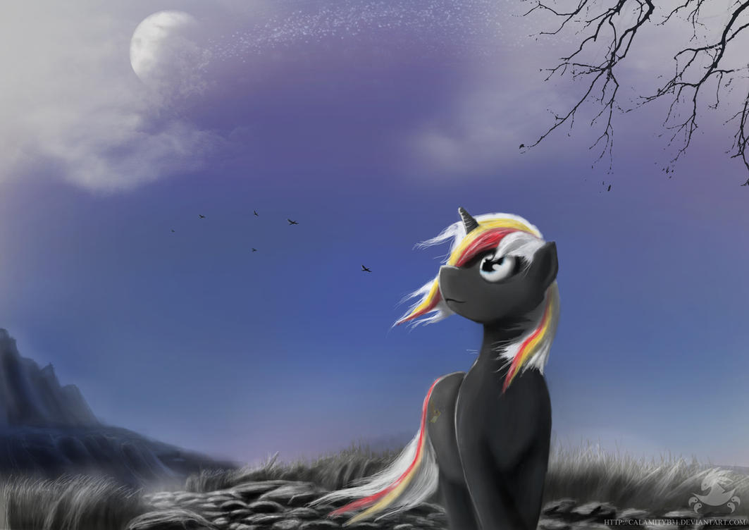 Velvet Remedy, Midnight Stroll by CalamityB31