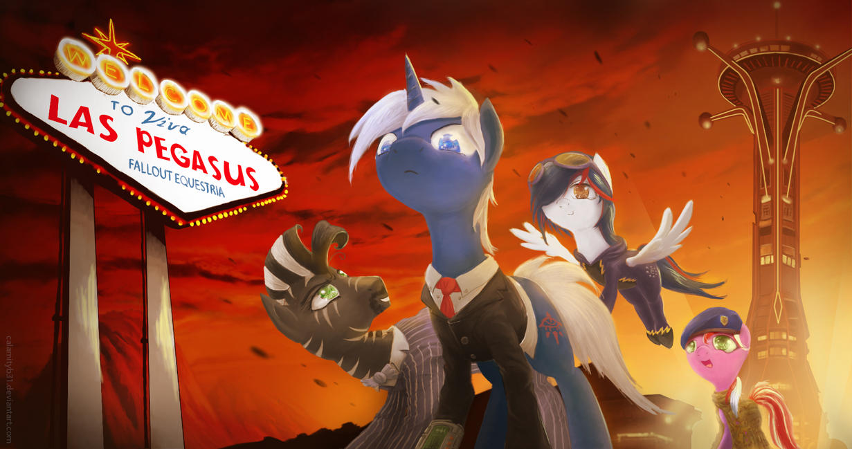 Fallout Equestria- Viva Las Pegasus by WitherMane