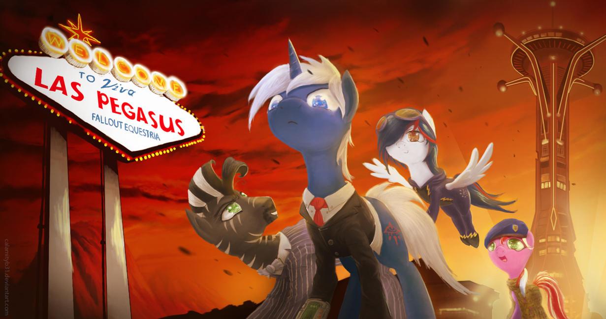 Fallout Equestria- Viva Las Pegasus by CalamityB31