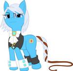Franziska as Pony