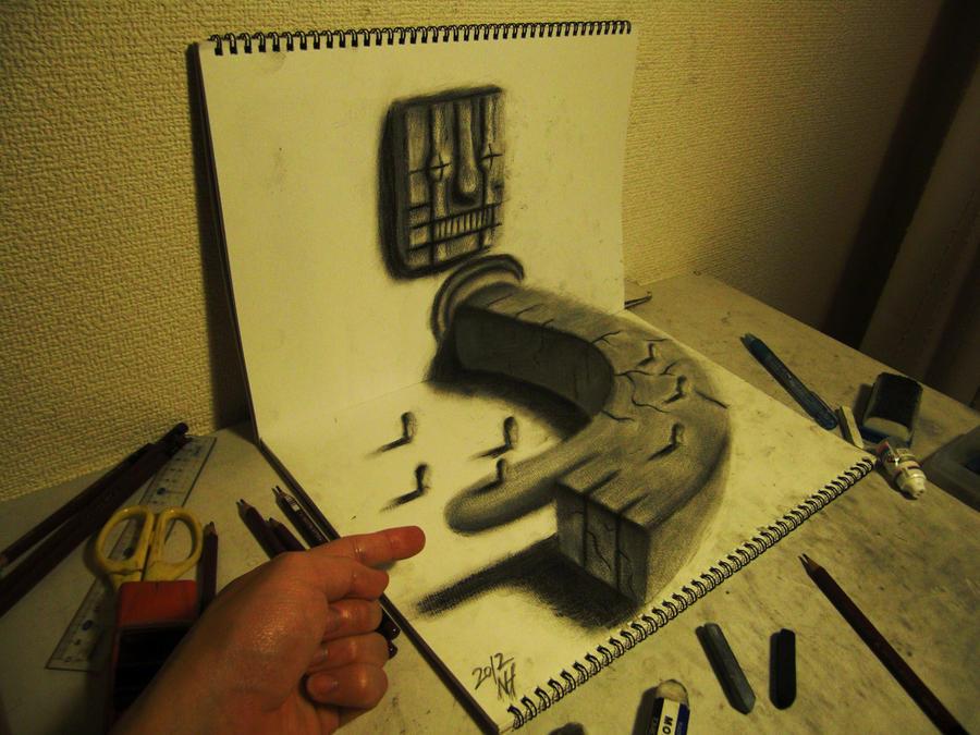 A finger and a finger