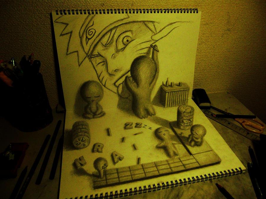 3D Drawing - NARUTO