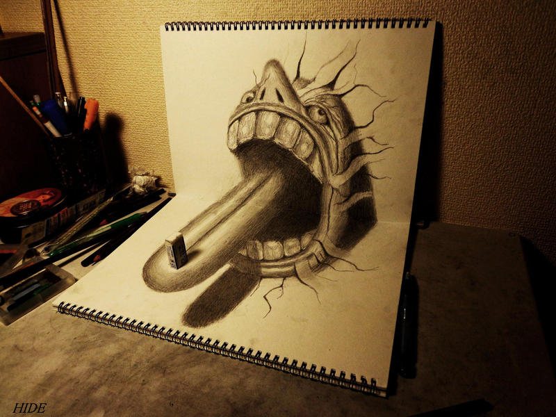 3D Drawing - Meal