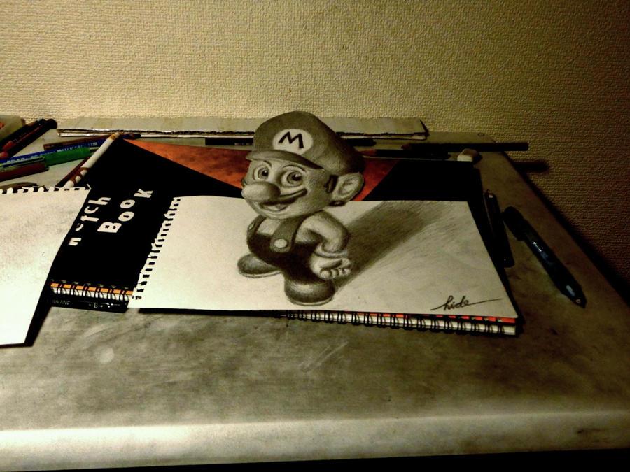 3D Mario by NAGAIHIDEYUKI