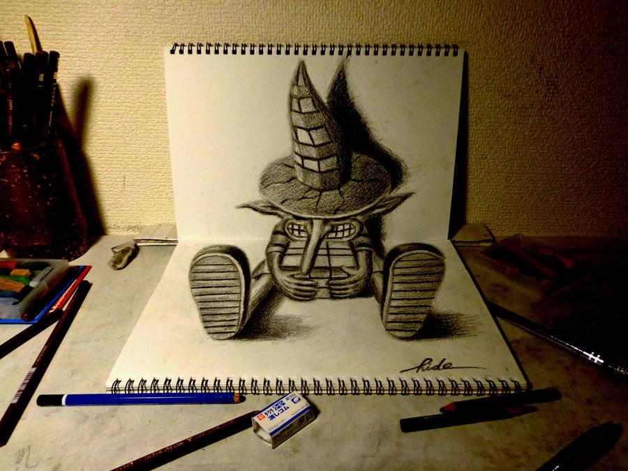 3D Drawing - Wanderer by NAGAIHIDEYUKI