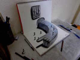 Originals for sale - 3D Drawing - Guidance by NAGAIHIDEYUKI
