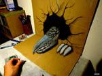 3D Drawing - 3D Dragon