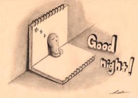 Good night (MINI DRAWING)