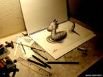 3D Drawing - Nessie