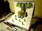 3D Drawing - Master-servant relationship
