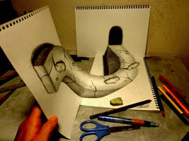 3D Drawing - Other angles by NAGAIHIDEYUKI