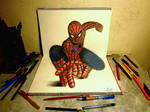 3D Drawing - The Amazing Spider-man2