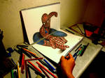 3D Drawing - Other angles [The Amazing Spider-man]