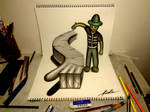 3D Drawing - Painter of mystery