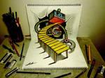 3D Drawing - Robot