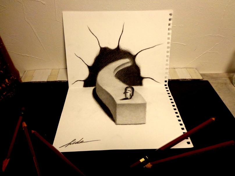 3D Drawing - The Way by NAGAIHIDEYUKI