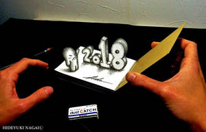 3D Drawing - Happy New Year 2018