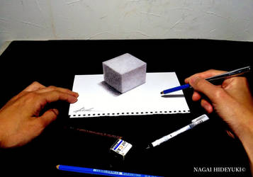 3D Drawing - Cube