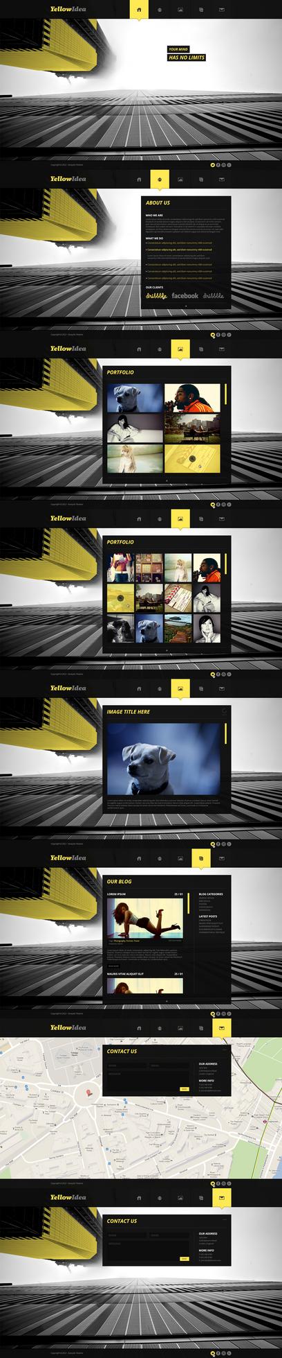 YellowIdea by KERQkg