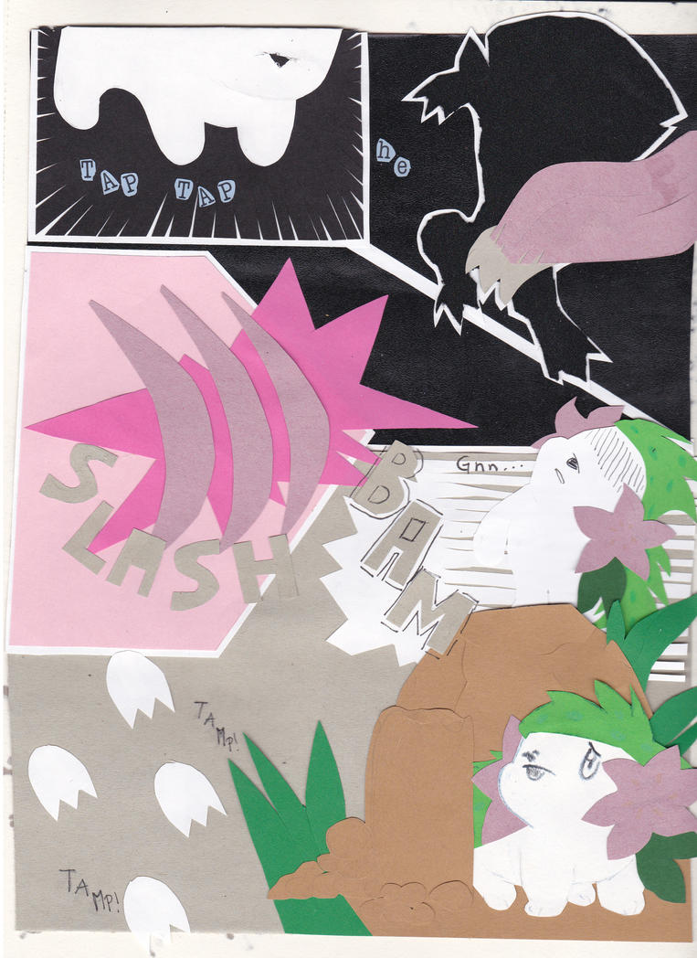 Pokemon paper adventure page 1 - read left-right by Arci-zhadoow