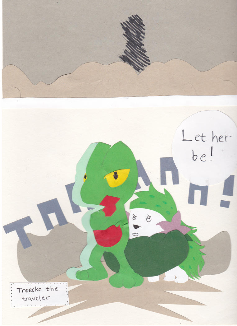 Pokemon paper adventure page 3 - read left-right by Arci-zhadoow