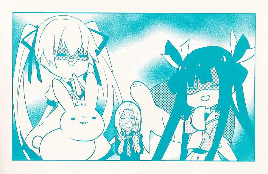 Okami-San Manga Cover Photo (Vol. 3) by IceCreamGurl