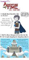 Adventure Time OC meme (featuring Flinn) by sayuri12moonlight