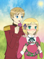APH: Young Love by sayuri12moonlight